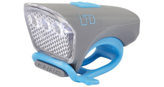 Cube LTD Frontscheinwerfer white LED grey'n'blue